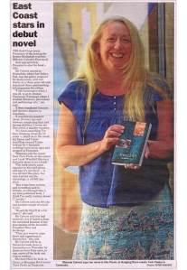 East Coast stars in debut novel